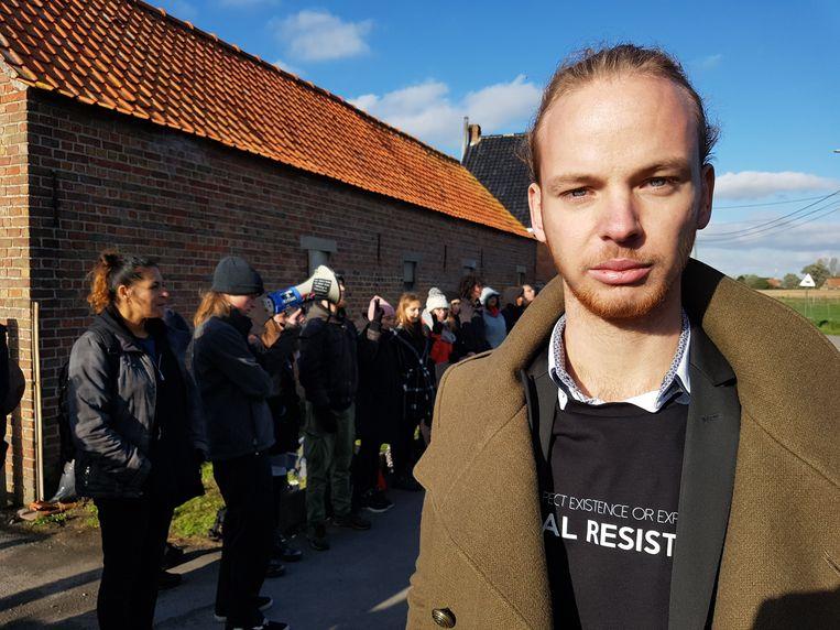 Woordvoerder Glenn Lemmens van Animal Resistance.