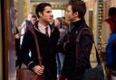 In 'Glee' staat een romance tussen twee jongemannen centraal.