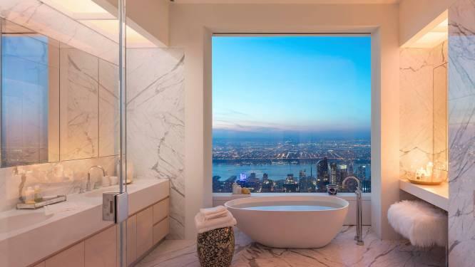 Zo zag je New York nog nooit: penthouse toont waanzinnig zicht op de stad