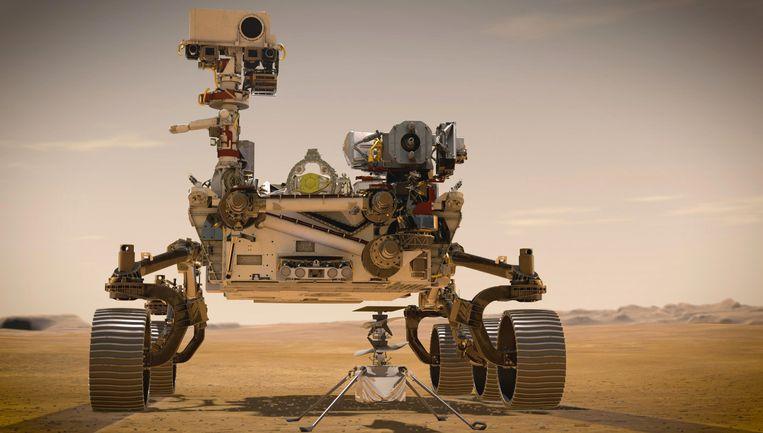 De landing van onderzoeksrobot Perseverance op Mars noemt Yajaira Sierra Sastre 'een grote stap voorwaarts in de geschiedenis van de mensheid'.  Beeld ZUMA Press