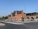 Werken aan het station van Vilvoorde
