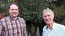 Paul Pöttgens (links) en Wim van der Rijt van de Energie Coöperatie Schijndel.