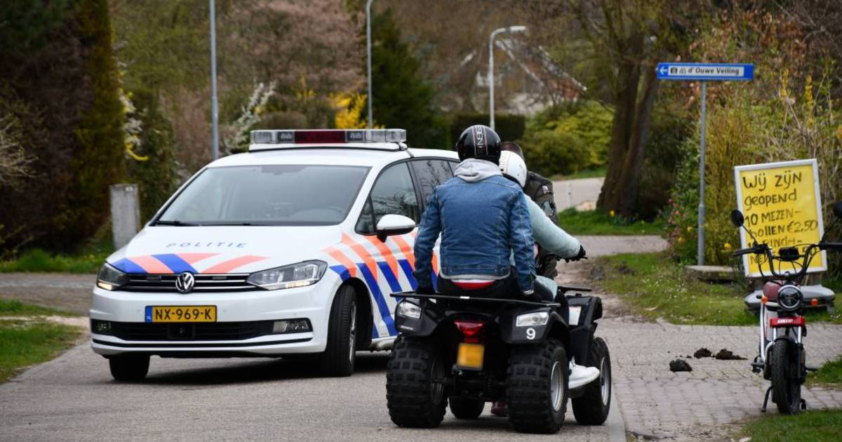 Twee fietsers gewond bij botsing met quad in Burgh-Haamstede.