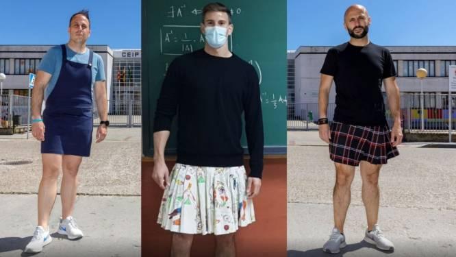 Waarom Spaanse leerkrachten in jurk of rok voor de klas gaan staan