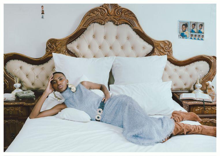 Thebe Magugu, Iris Magugu's bed, 2020 Beeld Kristin-Lee Moolman