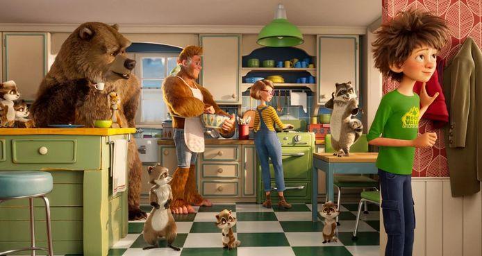La drôle de famille de Bigfoot.