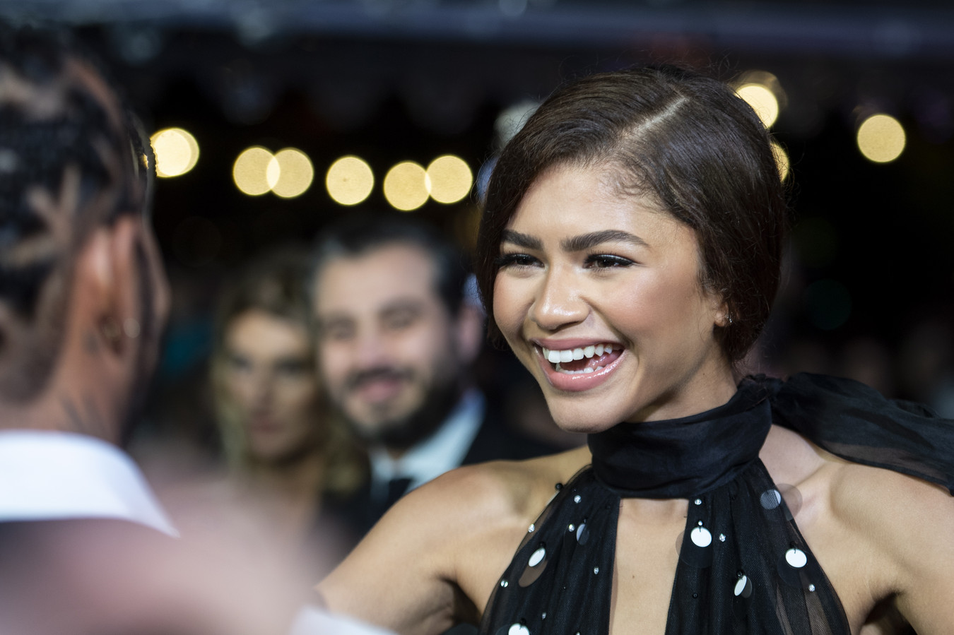 Zendaya, actrice in 'Malcolm & Marie'.