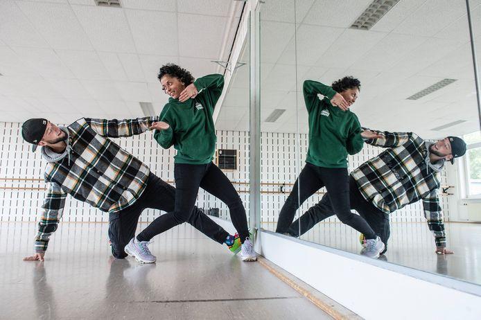 TILBURG, Pix4Profs-Ron Magielse het tilburgs stel sylvia coester en steijn kooij doen mee aan sbs6-programma de dansmarathon waarin ze 50 uur moeten dansen.
