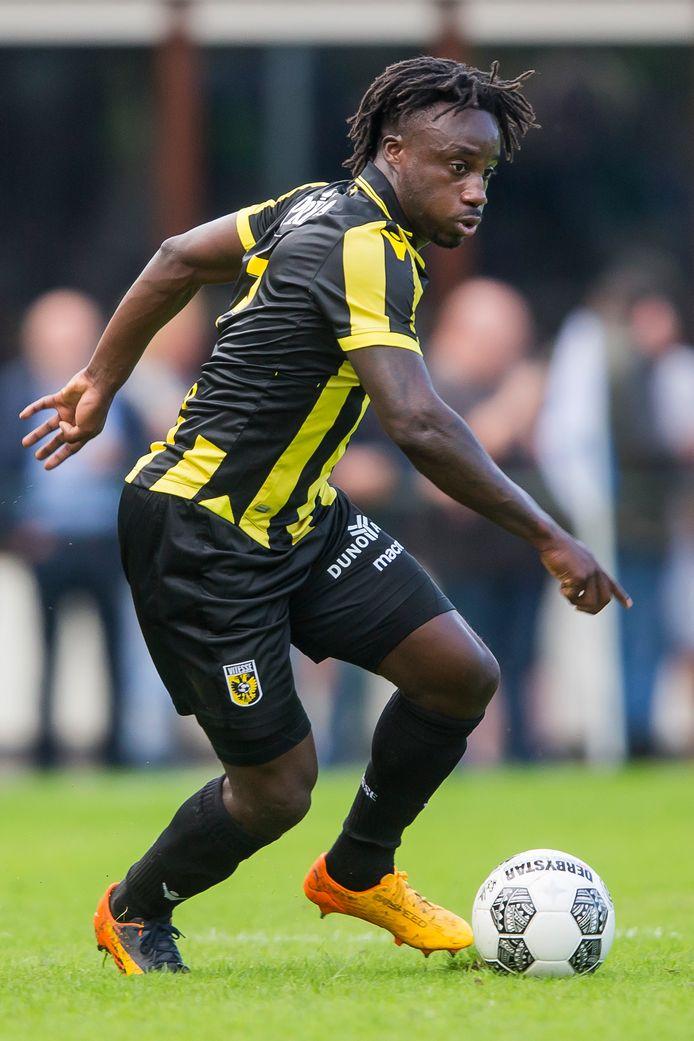 Dabo in actie in het oefenduel met FC Oleksandria.