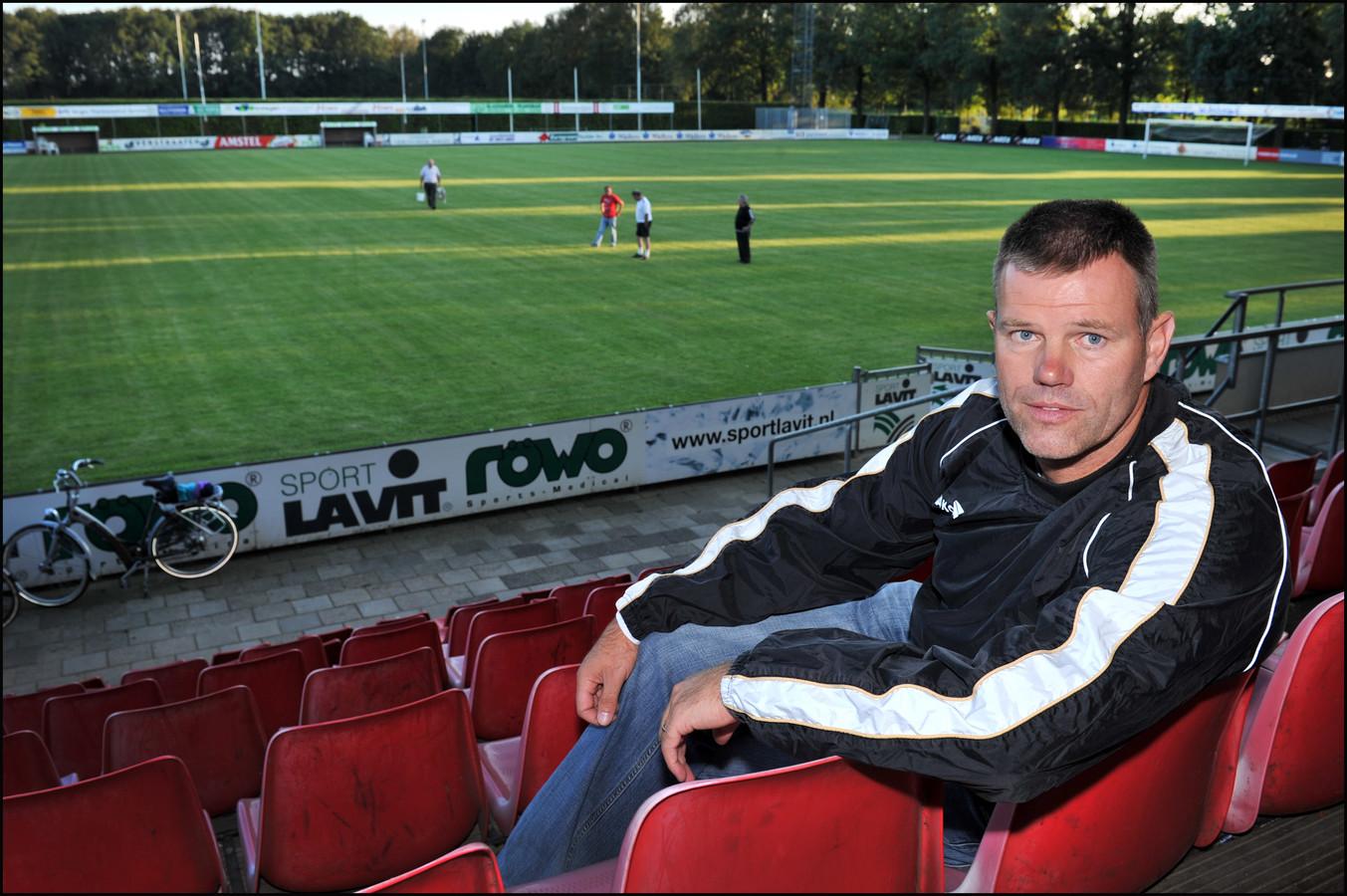 Archiefbeeld: Coach Henk Evers.