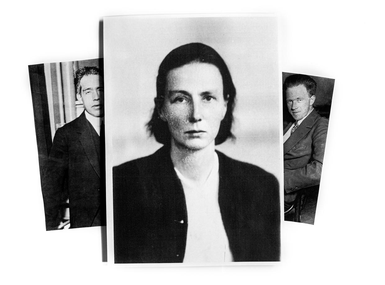 Grete Hermann treedt uit de schaduw van Niels Bohr (links) en Werner Heisenberg. Beeld Getty / Archiv der Sächsische Akademie der Wissenschaften zu Leipzig