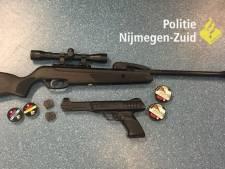 Politie pakt man met luchtdrukwapens na schietincident in Nijmegen