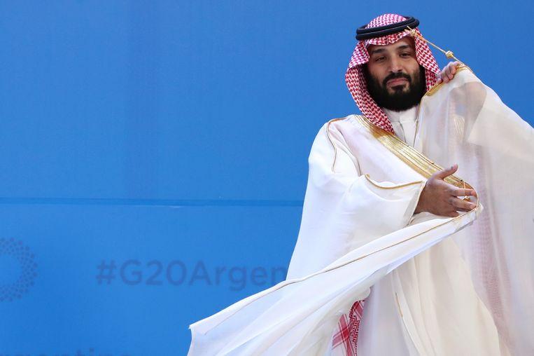 De Saudische kroonprins Mohammed bin Salman Beeld AP