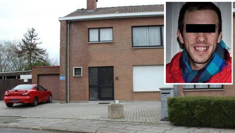 De politie trof de zwaargewonde tiener aan in deze woning in de Paardebloemstraat, beklaagde Nico Y.
