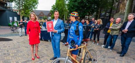 Utrechts college leert van Songfestival: risico's fietskoerier naar Hilversum sturen onderschat