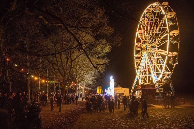 Exact 50.000 mensen kwamen naar de Winteravonden in Bokrijk om onder andere te genieten van een ritje in het reuzenrad.