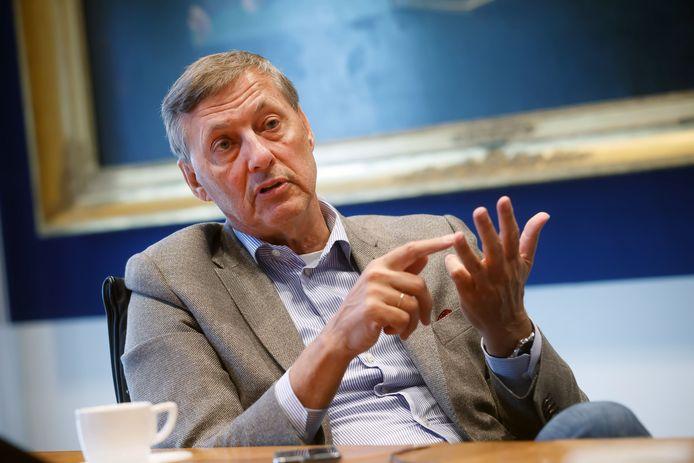 Paul Rüpp, voorzitter van het College van Bestuur van Avans Hogeschool, en in de jaren negentig als wethouder van Uden nauw betrokken bij twee herindelingen die niet doorgingen.