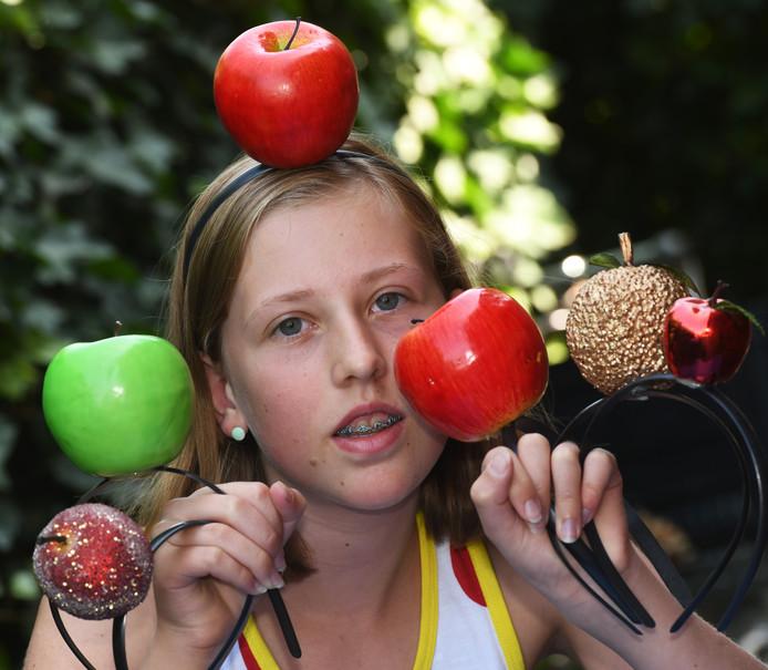 Tiel Frederike Wijnbelt Appelpophaarbanden.Foto William Hoogteyling