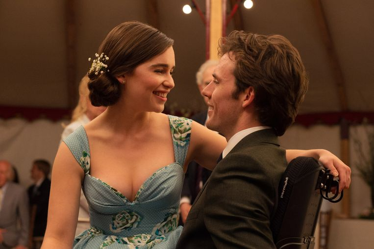 Emilia Clarke en Sam Claflin in Me Before You. Beeld