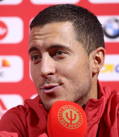 """Eden Hazard: """"On peut remporter l'Euro 2020 comme la France, l'Espagne, l'Italie et d'autres"""""""