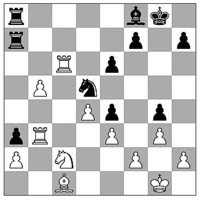 Carlsen-Duda (Aimchess rapid, 2021) Beeld