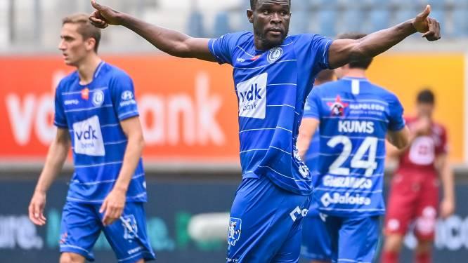 """Michael Ngadeu wijst AA Gent de weg naar eerste zege: """"Match had bij de rust al gespeeld moeten zijn"""""""