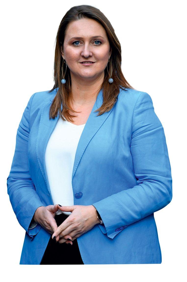'Het antwoord van Gwendolyn Ruttens Blauwe Fabriekje legde de diepste angst bloot van het Gele Fabriekje.' Beeld