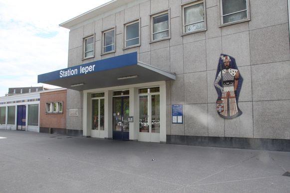 Het station van Ieper.