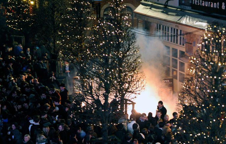 Vuurwerk is ten strengste verboden in heel Leuven. De politie zal dit jaar extra streng optreden.