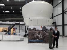 Koning Willem-Alexander bekijkt nieuwste technieken op vliegbasis Gilze-Rijen