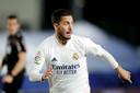 Eden Hazard bij Real Madrid.