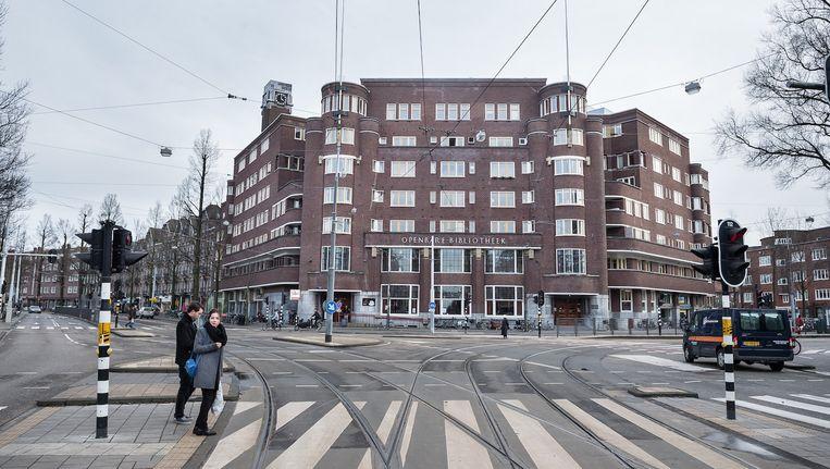 'Het Nieuwe Huis' aan het Roelof Hartplein, de bakermat van de Amsterdamse wooncoöperatie Samenwerking. Beeld Mats van Soolingen