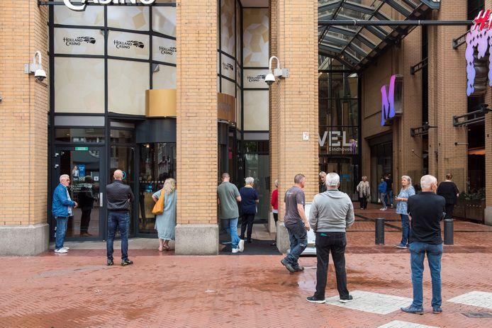 Holland Casino in Eindhoven opent zijn deuren weer.
