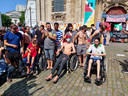 Sans-papiers beëindigen honger- en dorststaking in Brusselse Begijnhofkerk.
