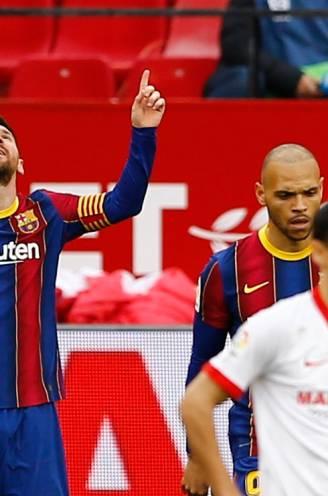 Messi gidst Barça langs Sevilla: Argentijn scoort en geeft assist in Andalusië