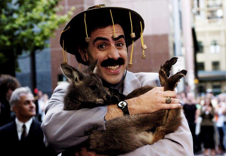 Borat. Beeld EPA