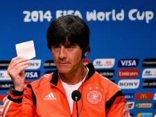 Löw ziet Duitsland als favoriet in WK-finale