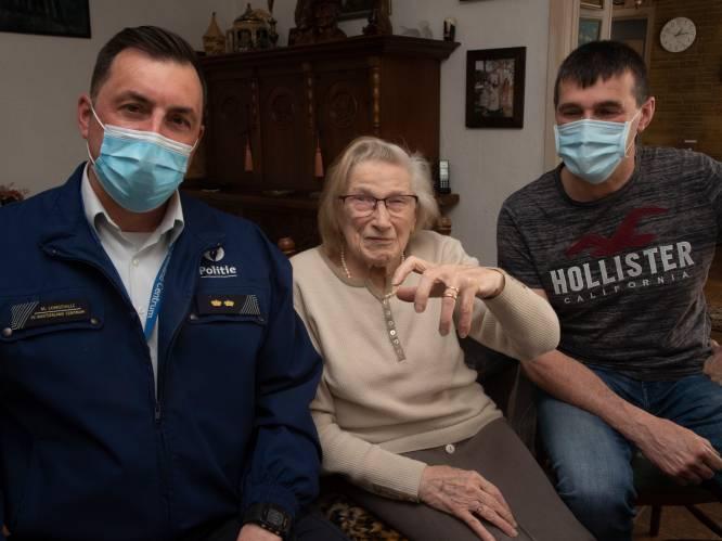 Zeldzame 'schat' gevonden bij verbouwing Colruyt: Carolla (92) krijgt verloren gewaande trouwring van overleden man Omer terug