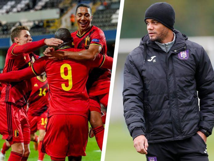 Diable Rouge retraité, Vincent Kompany apprécie les évolutions apportées au style de jeu de l'équipe nationale belge.