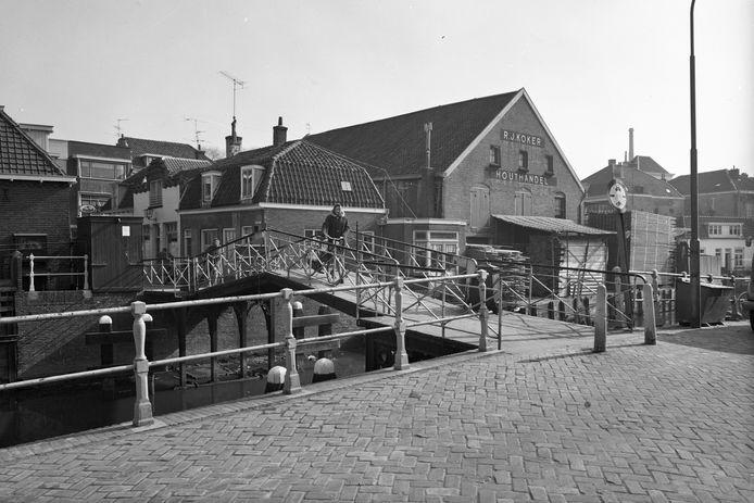 De Knollenbrug in 1965.