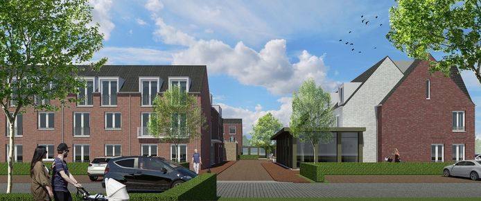 Een impressie van de nieuwe Riethorst in Geertruidenberg. De organisatie wil fuseren met de Volckaert en Schakelring.