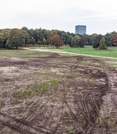 Van modderzooi naar gras in Goffertpark: prijs 9000 euro