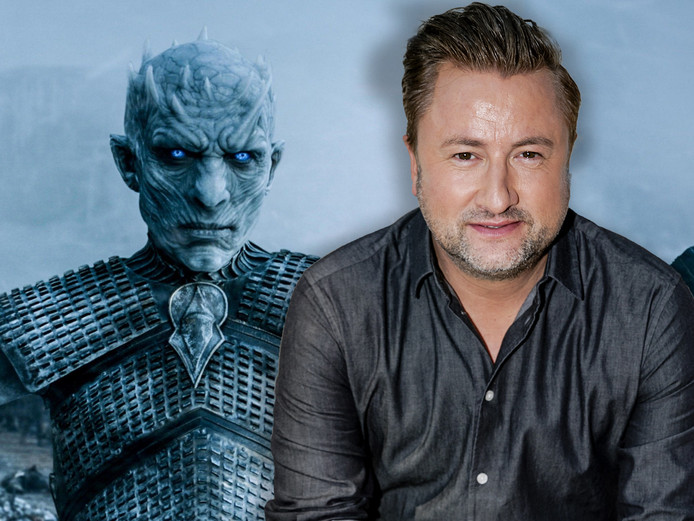 Dennis Weening en de Night King.