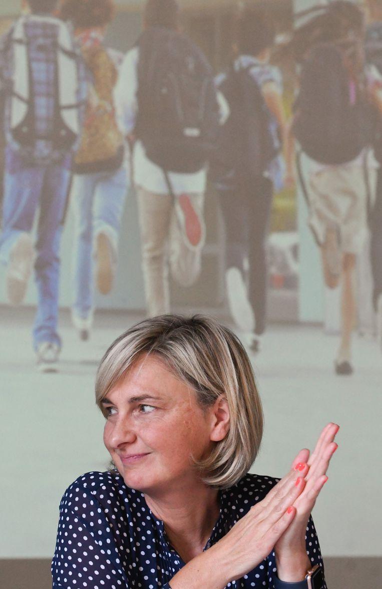 Minister van Onderwijs Hilde Crevits (CD&V). Beeld Photo News