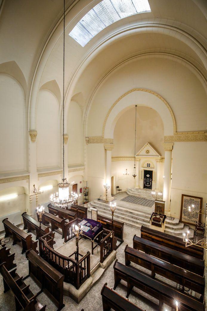 De synagoge geldt als een pareltje in Oostende.