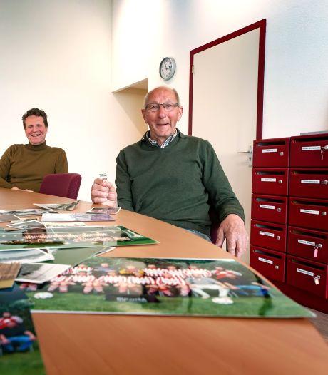 'In 75 jaar is Zwaluwe niet veel beter gaan voetballen, verder is bijna alles veranderd'