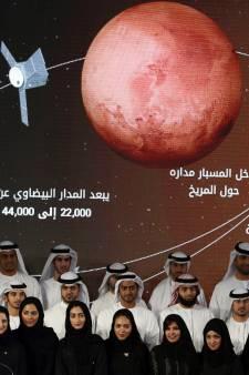 Arabische wereld stuurt kunstmaan naar Mars: 'Deze missie zet ons op de kaart'