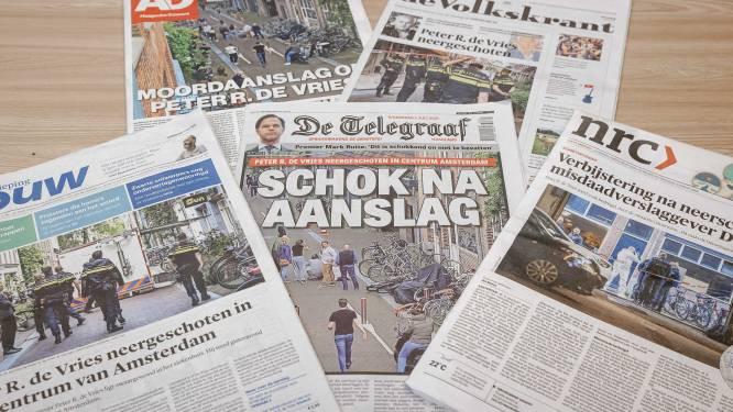 """Nederlandse kranten over Peter R. Vries: """"Vastberaden, vol zelfvertrouwen en zonder angst"""""""