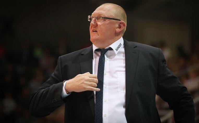 Bergen-coach Daniel Goethals. Beeld belga