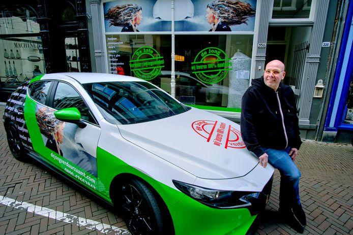 Eigenaar Peter De Jong van De Jong Verduurzaamt: ,,Deze branche is continu in beweging.''